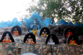 Shiva and Saptha Rishis